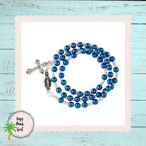 Jewelry - Our Lady of Grace Wrap Style Rosary Bracelet